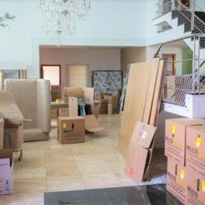 Mudanças residenciais